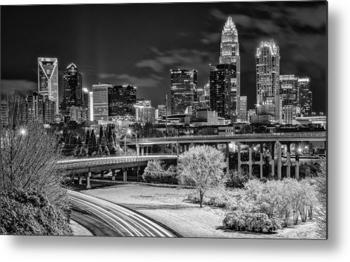 Charlotte Metal Print featuring the photograph Snowy South by Brian Young