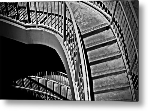 Abstracts Metal Print featuring the photograph Visions Of Escher by Steven Milner