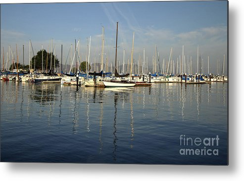 California Coast Metal Print featuring the photograph Water Colors by Leslie Reitman
