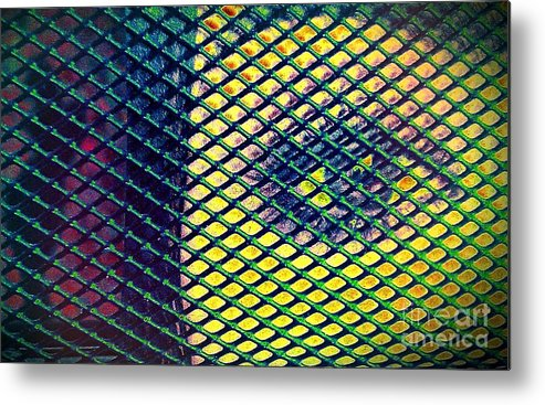 Eye Metal Print featuring the mixed media Window To The Soul by Jacqueline McReynolds