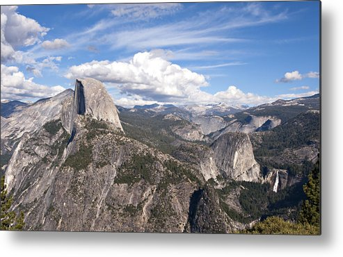Yosemite Valley Metal Print featuring the photograph Yosemite Valley by Matthew McAward