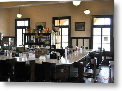 Train Station Metal Print featuring the photograph After The Rush by Cheri Randolph