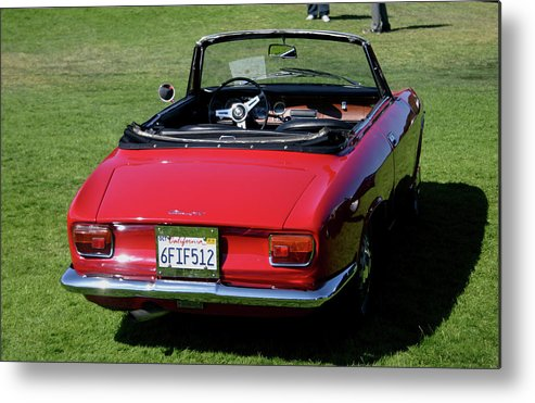 Alfa Romeo Metal Print featuring the photograph Alfa Romeo Gtc by Fred Russell