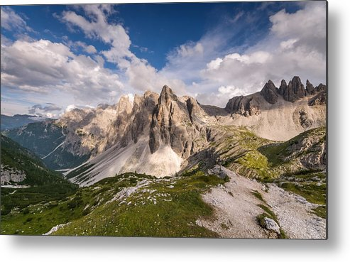 Horizontal Metal Print featuring the photograph Crode Fiscaline by Carlo Zustovi Photographer