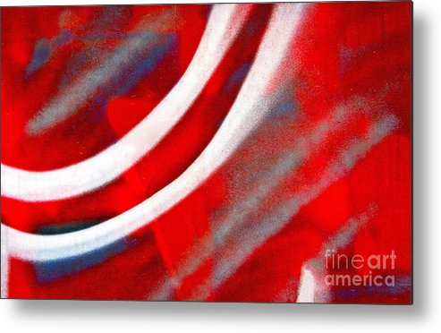 White Metal Print featuring the photograph Motion by Joan McArthur