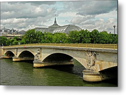 Petit Palace Metal Print featuring the photograph Petit Palace Paris France by Dave Mills