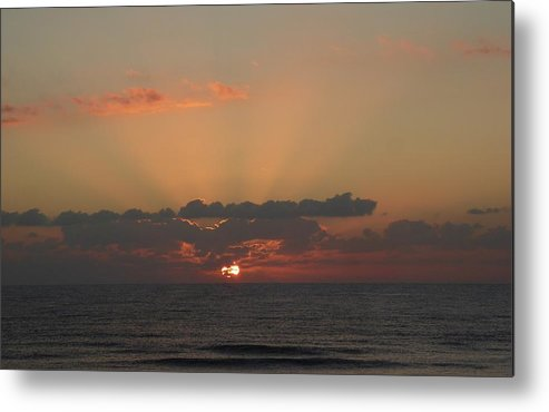 Sunrise Metal Print featuring the painting Day Dawns by Rayne Van Sing
