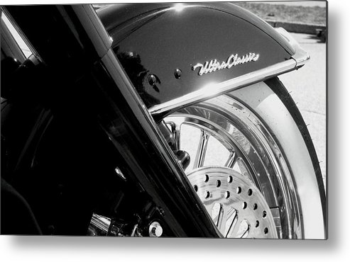 Harley Metal Print featuring the photograph Ultra Classic by Kevin D Davis