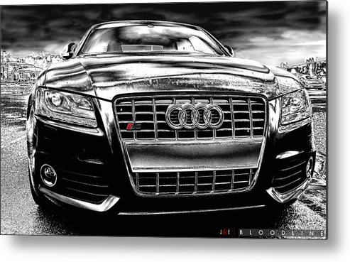 Audi Metal Print featuring the photograph Bloodline by Jonathan Ellis Keys