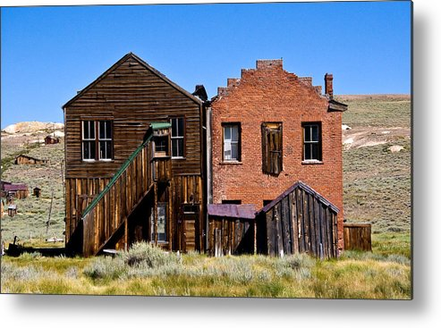 Bodie Siblings Metal Print featuring the photograph Bodie Siblings by Chris Brannen
