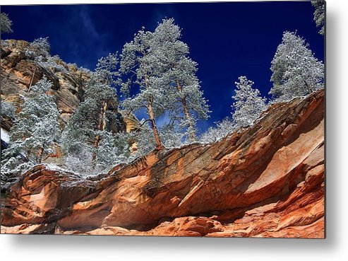 Canyon Metal Print featuring the digital art Canyon by Dorothy Binder