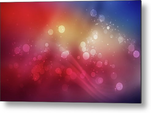 Circle Metal Print featuring the digital art Circle by Dorothy Binder