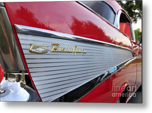Fins Metal Print featuring the photograph Classic Fins by David Lee Thompson