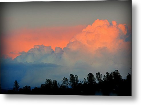 Scenic Metal Print featuring the photograph Color Burst by AJ Schibig