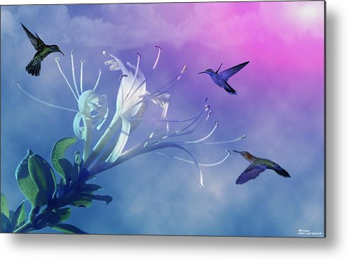 Wildlife Metal Print featuring the photograph Flower by Evelyn Patrick