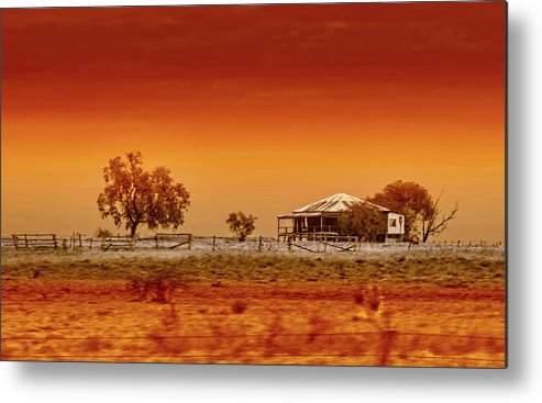 Landscapes Metal Print featuring the photograph Hazy Days by Holly Kempe