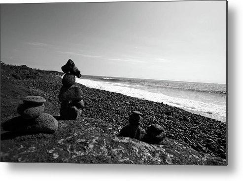 Big Island Metal Print featuring the photograph Kalapana Beach by Ty Helbach