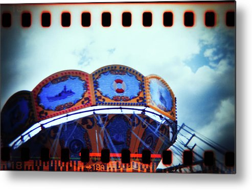 Abstract Metal Print featuring the photograph Playground #168 by Andrey Godyaykin