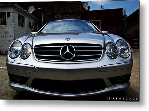 Mercedes Metal Print featuring the photograph Renegade by Jonathan Ellis Keys