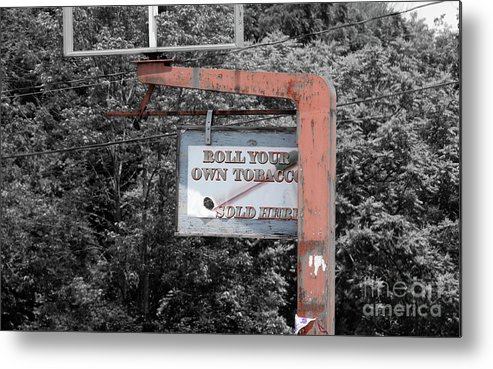 Tobacco Metal Print featuring the photograph Roll Your Own by Steven Digman