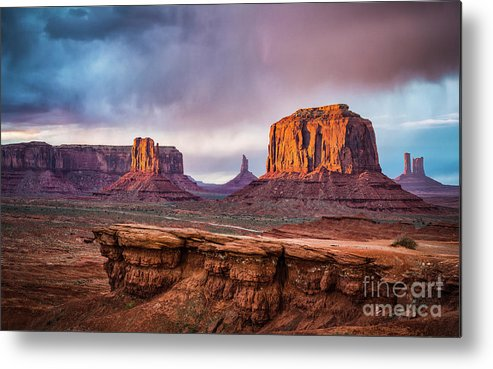 Southwest Metal Print featuring the photograph Southwest by Anthony Bonafede