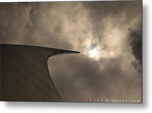 Air Force Metal Print featuring the photograph The Highest Aim by Jonathan Ellis Keys