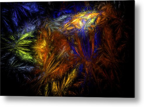 Undelivered Metal Print featuring the digital art Undelivered by Brainwave Pictures