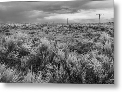 National Park Metal Print featuring the photograph Vestige Of Route 66 by Joseph Smith