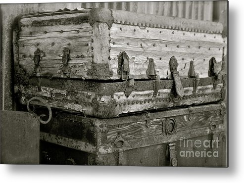 Trunks Metal Print featuring the photograph Well Traveled by Lori Leigh