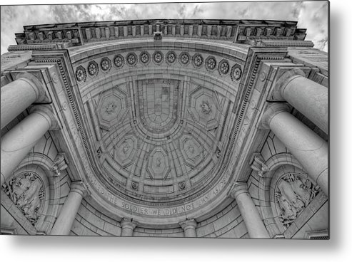 Craig Fildes Photography Metal Print featuring the photograph Arlington National Cemetery Memorial Amphitheater by Craig Fildes