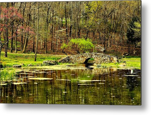 Arkansas Metal Print featuring the photograph Arkansas Tranquility by Benjamin Yeager