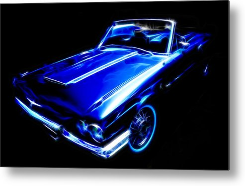 Ford Thunderbird Metal Print featuring the photograph 1964 Thunderbird by Phil 'motography' Clark