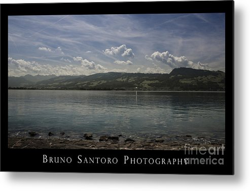 A Light Is On Metal Print featuring the photograph A Light Is On by Bruno Santoro