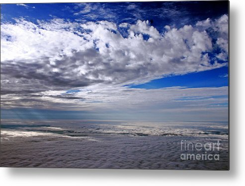 Cloud Formations Metal Print featuring the photograph Ceiling High 5 by Earl Johnson