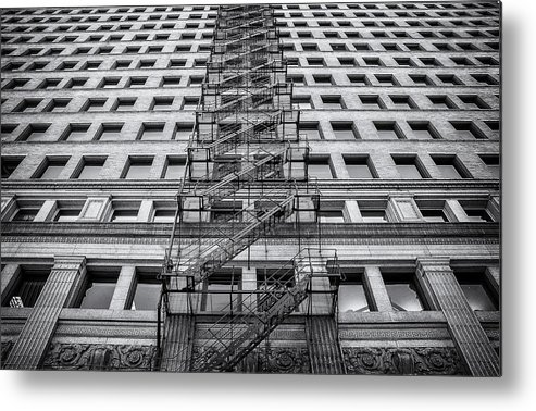 Fire Escape Metal Print featuring the photograph Escape by Scott Norris