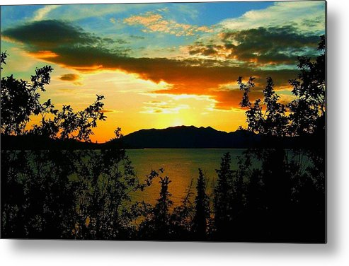 North America Metal Print featuring the photograph Marsh Lake - Yukon by Juergen Weiss