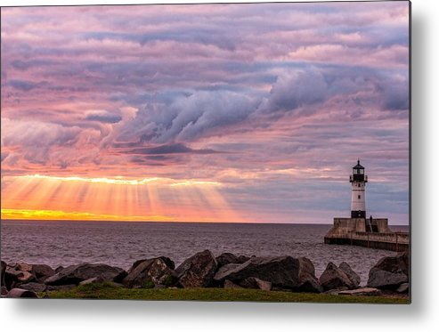 Morning Has Broken Metal Print featuring the photograph Morning Has Broken by Mary Amerman
