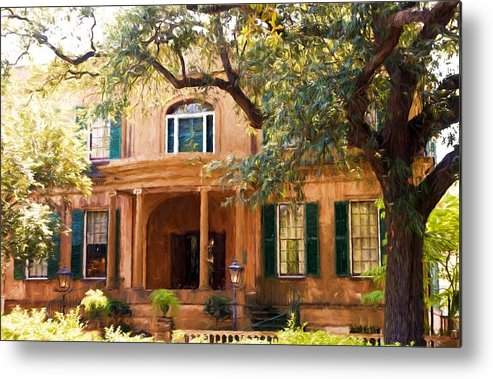 Savannah Metal Print featuring the photograph Owens Thomas House by Bill Howard