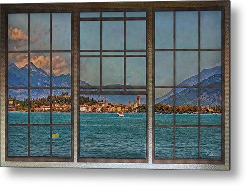Lago Di Garda Metal Print featuring the photograph Summer Imagination by Hanny Heim
