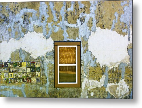 Window Metal Print featuring the photograph Window Alto Pass Illinois by David Watson