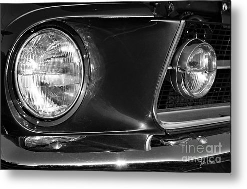 Grill Metal Print featuring the photograph Burnt Rubber by Luke Moore