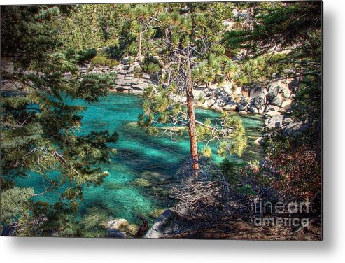 Lake Tahoe Metal Print featuring the photograph Lake Tahoe Swimming Hole by Scott McGuire