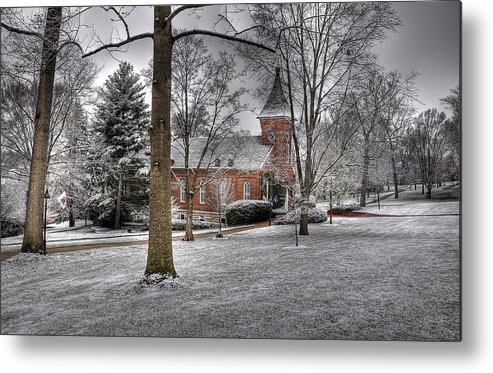 Lee Chapel Metal Print featuring the photograph Lee Chapel by Todd Hostetter