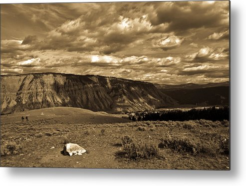Yellowstone Metal Print featuring the photograph Yellowstone Sky by Patrick Flynn