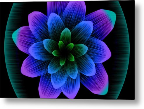 Artistic Metal Print featuring the digital art Artistic by Dorothy Binder