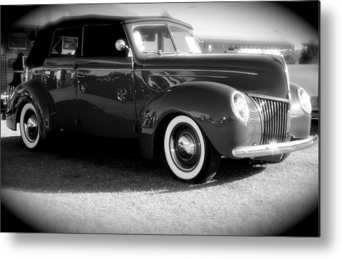 Classic Cars Metal Print featuring the photograph Classic by Timothy Mangino