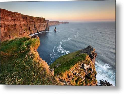 Ireland Metal Print featuring the photograph The Light Of Freedom by Hubert Leszczynski