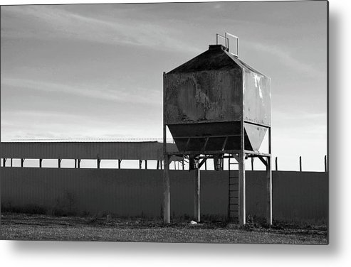 Farm Metal Print featuring the photograph Abandoned by Brian Sloan