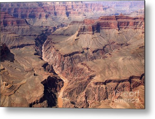 Helicopter Tour Metal Print featuring the photograph Dragon Corridor Grand Canyon by Thomas R Fletcher