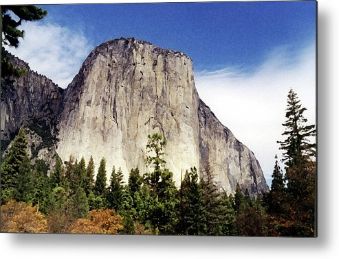 Yosemite Metal Print featuring the photograph El Capitan by Joanne Riske